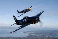 Mustang & Bearcat Air-to-Air